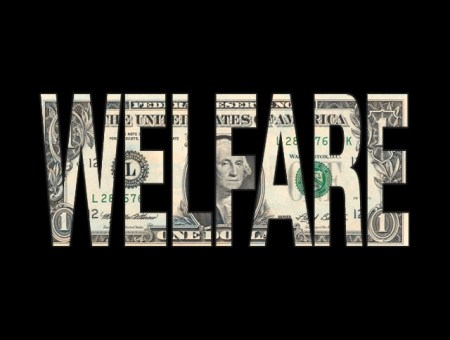 Welfare Dollar Sign