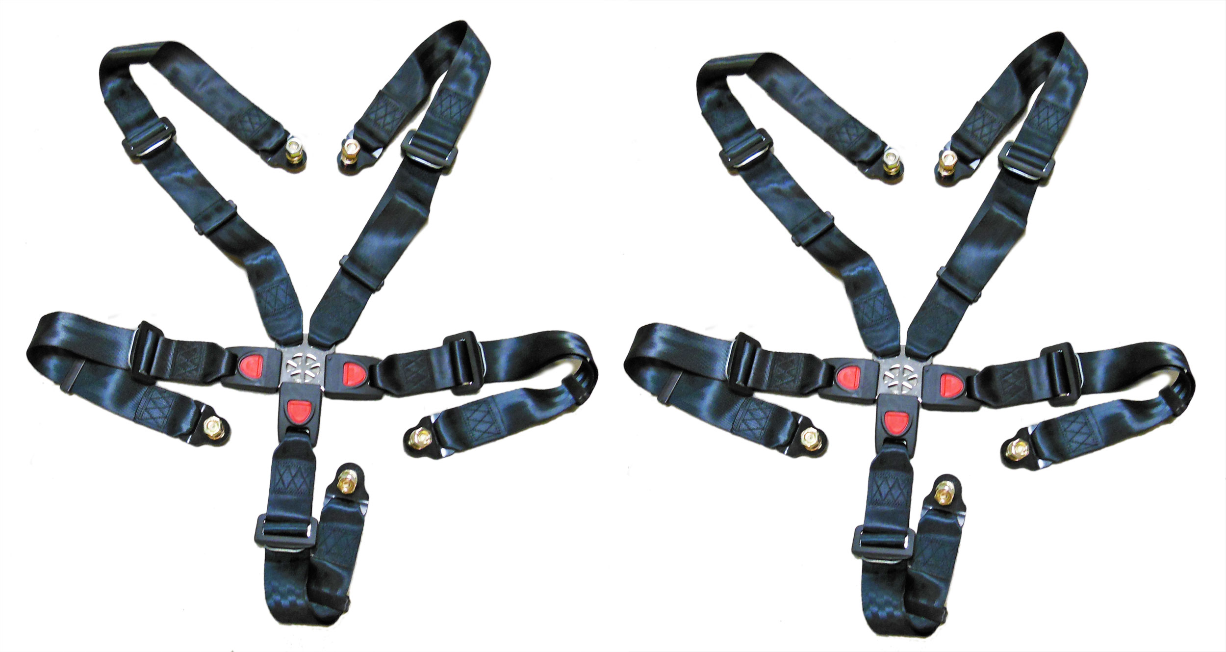Safety Belt Set Of 2 5 Point Seat Belt Shoulder Harness 6 000 354 K501116 Bmi Karts And Parts