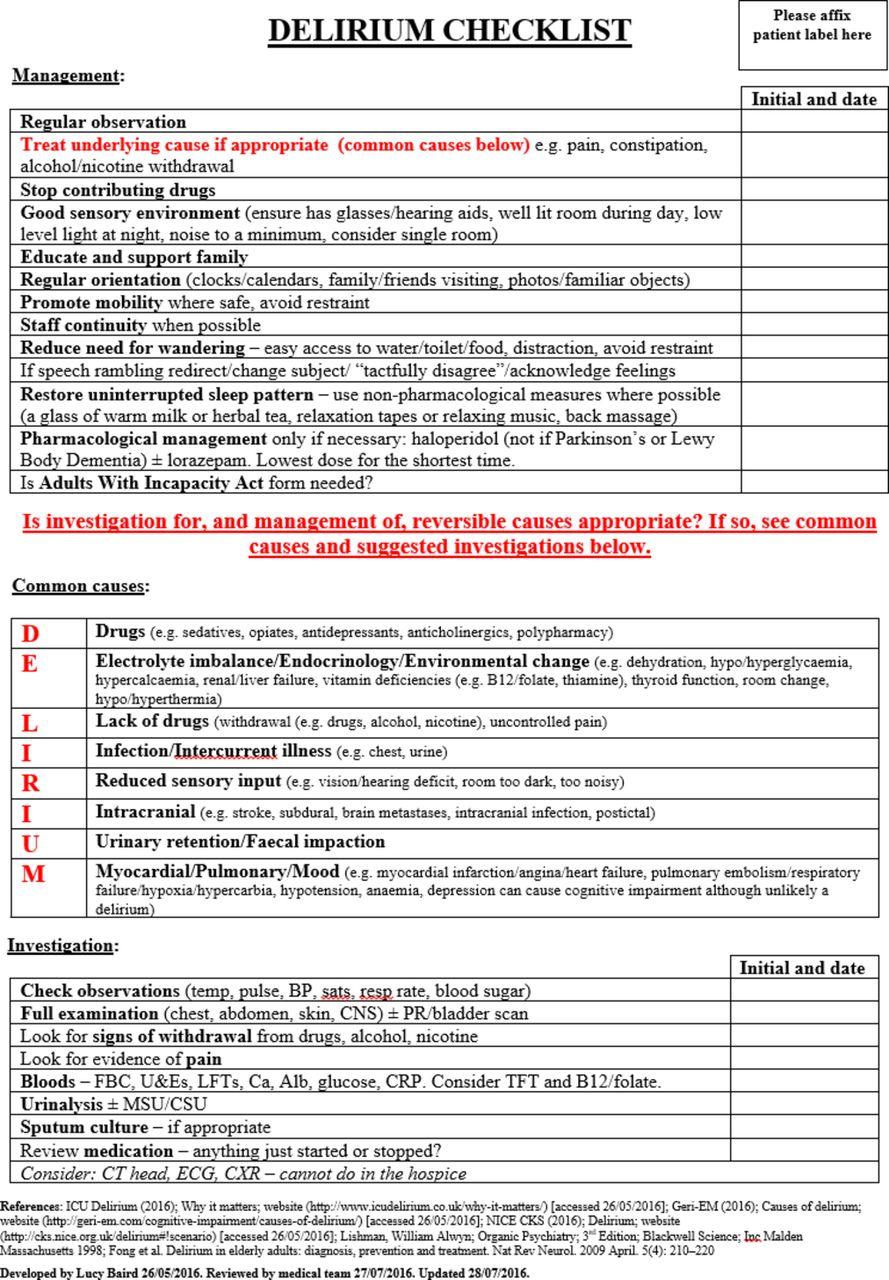 notes checklist