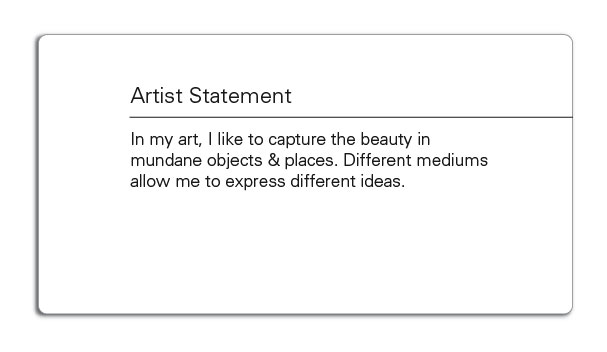 The Artist Statement  Why They Mostly Suck \u2013 BmoreArt Baltimore