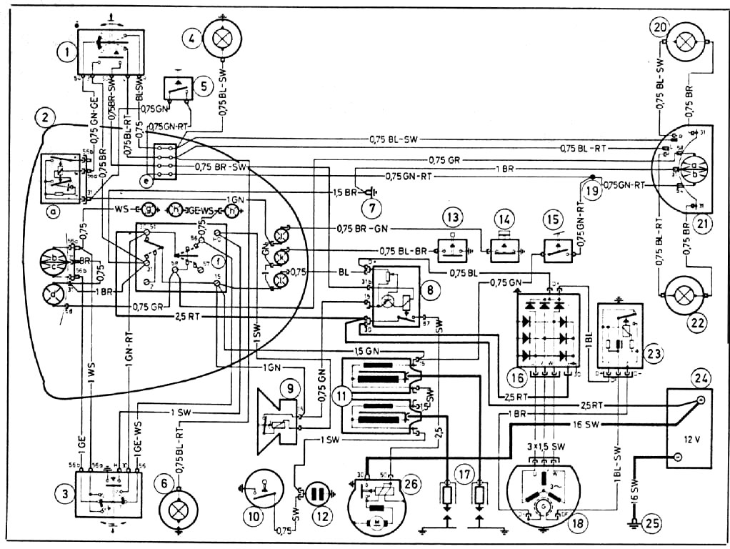 Bmw R75 Wiring Diagram Wiring Diagram