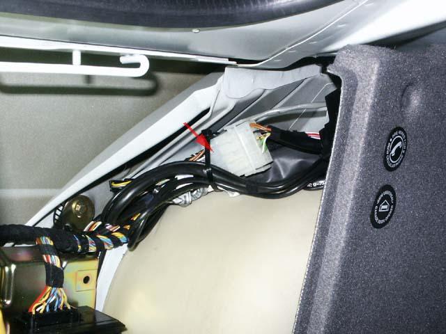 BMW E39 Park Distance Control (PDC) Wiring