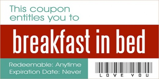 10 Love Coupons Every Couple Should Exchange - fun voucher template