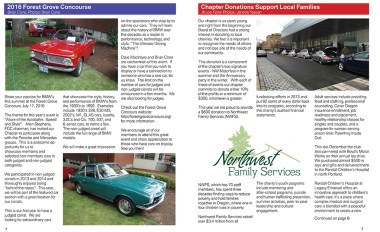 2016 Winter Newsletter Preview