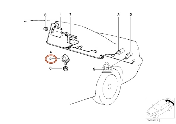 bmw e34 pdc wiring diagram