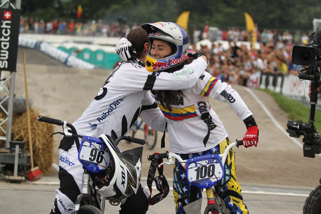 Sarah Walker and Mariana Pajon