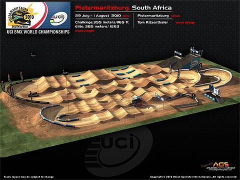2010 UCI BMX World championships track