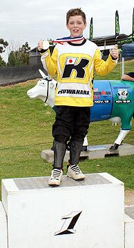 Kuwahara Team rider Liam Steele