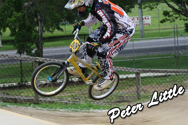 Speedline/Supercross team rider Peter Little
