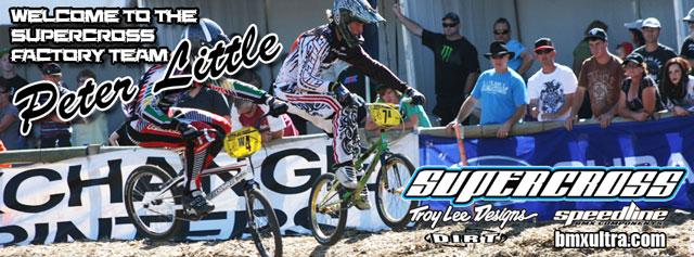 Peter Little joins the Supercross BMX Australia factory team