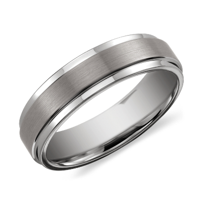brushed polished comfort fit ring tungsten tungsten carbide wedding band Need Help