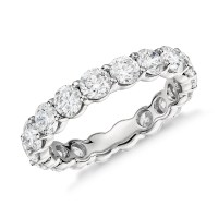 Classic Diamond Eternity Ring in Platinum (3 ct. tw ...