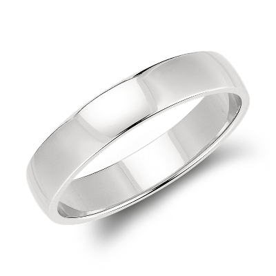 mens wedding rings classic wedding rings Classic Wedding Ring in Platinum 5mm