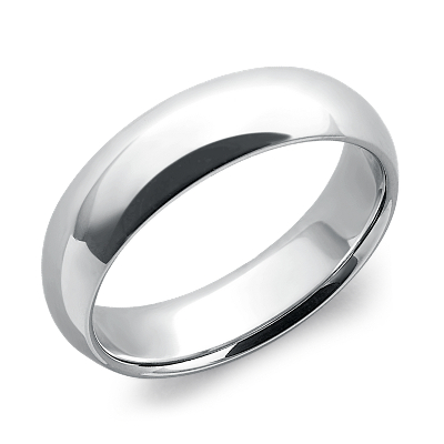 mens wedding rings mens platinum wedding rings Comfort Fit Wedding Ring in Platinum 6mm