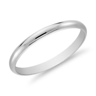 wedding ring platinum 22 classic wedding rings Classic Wedding Ring in Platinum 2mm