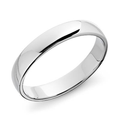 mens wedding rings wedding ring mens Blue Nile Favorite Classic Wedding Ring