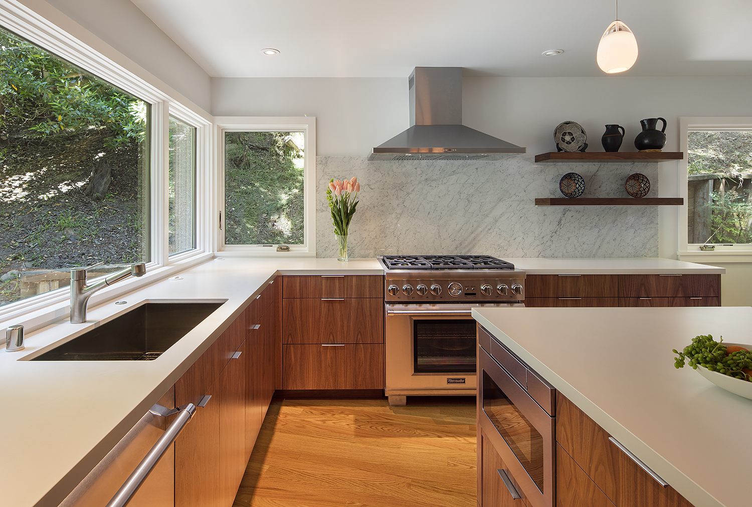 Midcentury Modern Kitchen Remodel in the Oakland Hills
