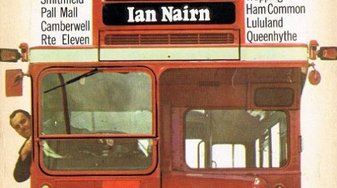 Detail from the cover of Nairn's London.