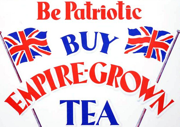 Buy British Tea poster.
