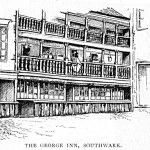 The George Inn, Southwark, 1895