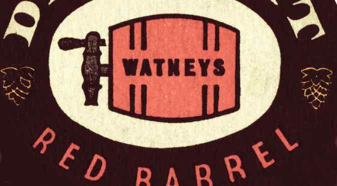 Watney's Red Barrel (detail from beer mat).