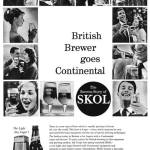 Introducing Skol, 1960.