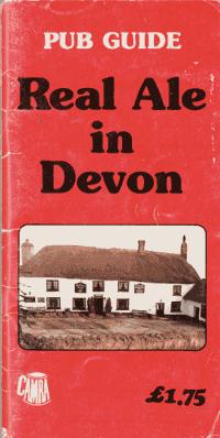 Book cover: Real Ale in Devon, 1984.