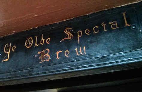 Ye Olde Special Brew.
