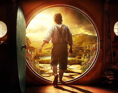 Leaving the Shire.