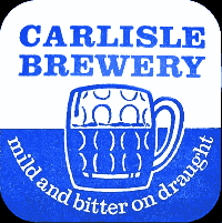 Carlisle Brewery beer mat.