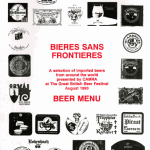 Artyfacts from the Nyneties #2: World Beer Menu, 1993