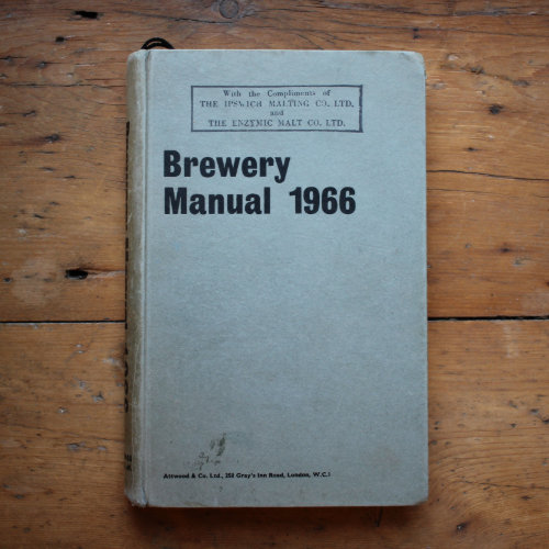 Brewery Manual, 1966.