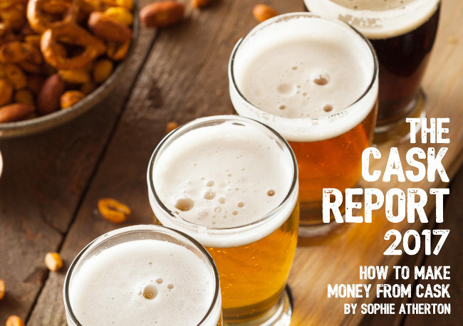 Cask Report cover detail.