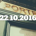 Pub frontage: PORTER. (With date overlaid.)