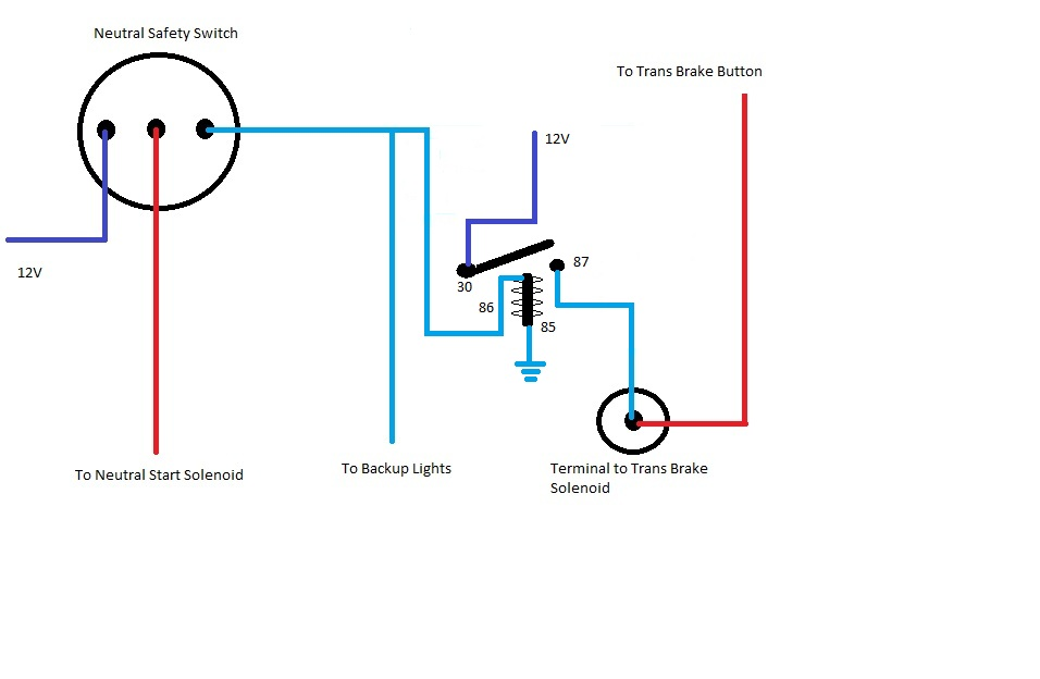Neutral Saftey Switch Diagram Wiring Harness Painless Wiring