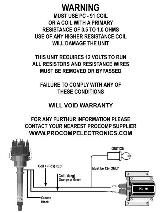 Procomp Electronics Distributor Wiring Diagram Wiring Schematic