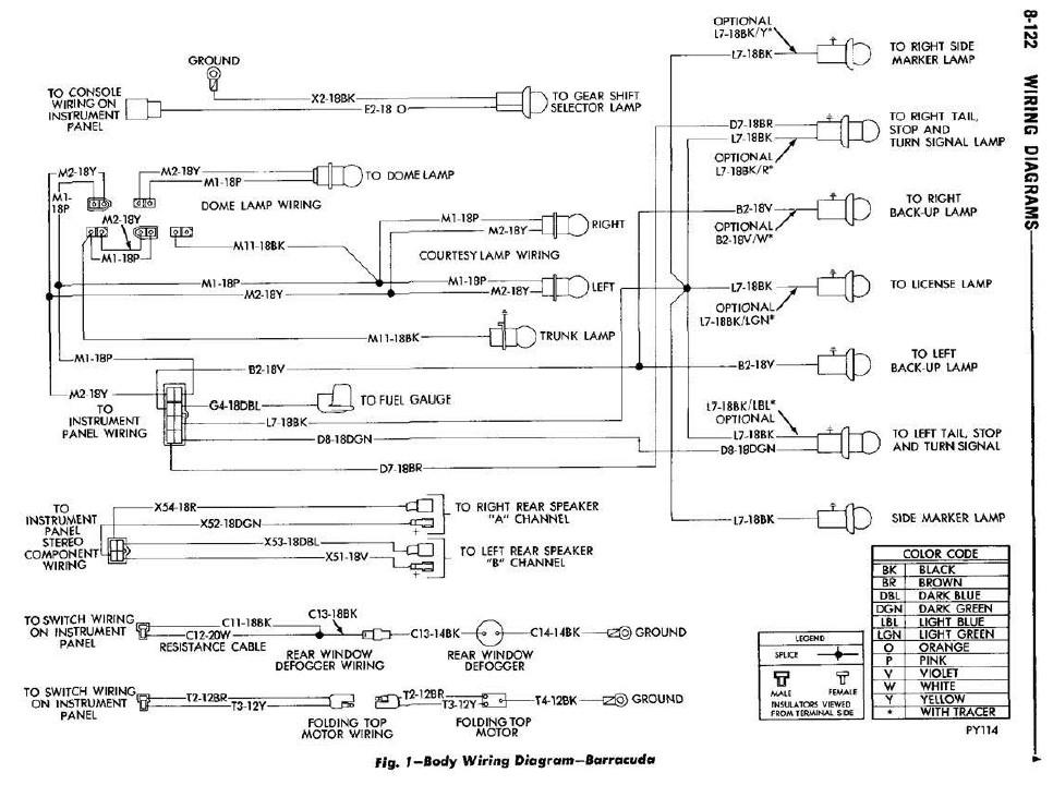 1970 Cuda Wiring Diagram Horn Wiring Diagram 2019