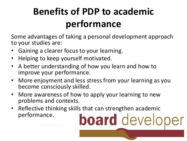 Importance of individual Development Planning - pdp plan example