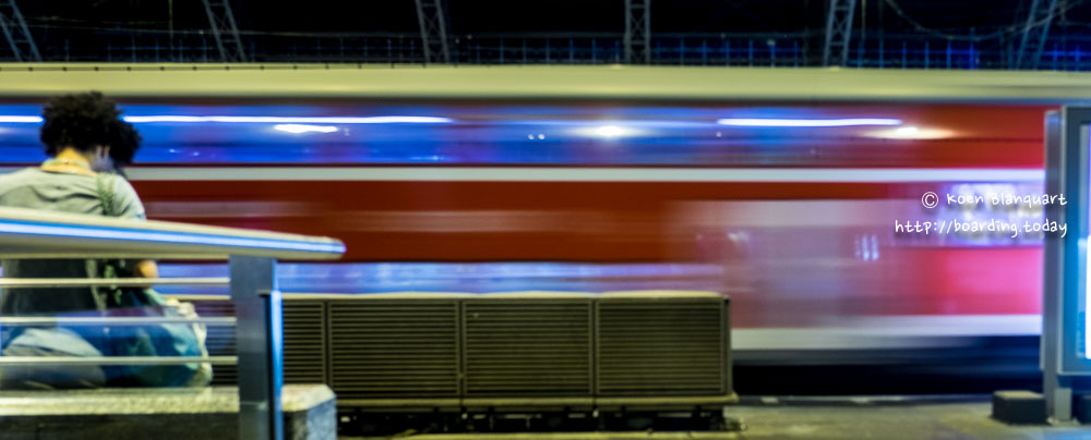 Night train between Cologne (Koln) and Berlin