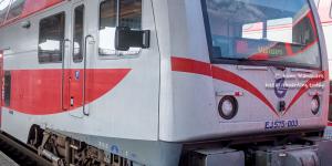Train from Kaunus to Vilnius