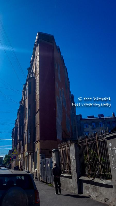 The Soviet version of the Flatiron building...