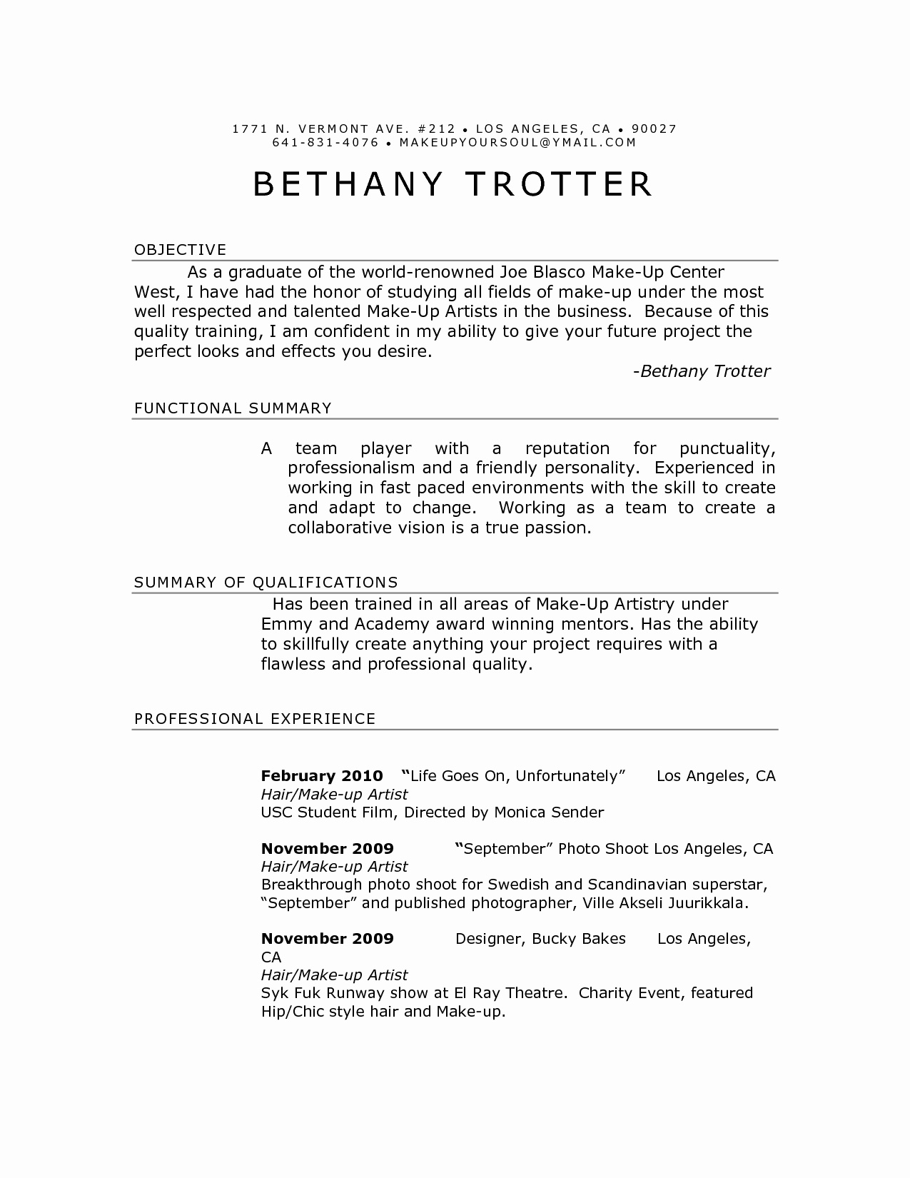 usc marshall resume template download