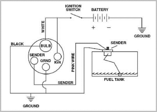 marine gas gauge wiring diagram