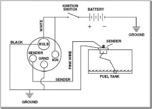 1968 camaro fuel sending unit wiring diagram