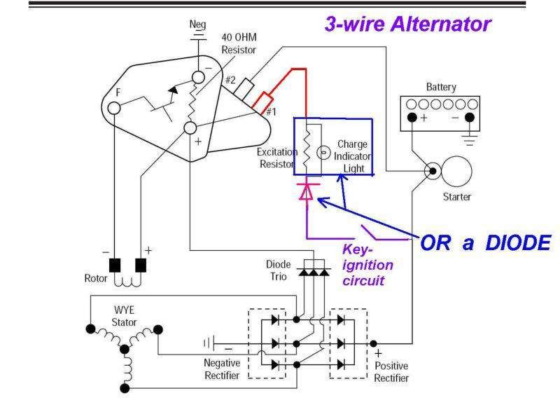 Ac Delco Alternator Wiring Wiring Diagram