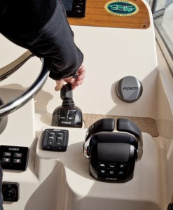 Comprehensive joystick control systems like Yamaha's Helm  Master represent a big technological leap for the outboard market.