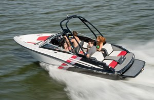 The Glastron GTS187 is one of Rec Boat Holdings' new lines of jet boats.