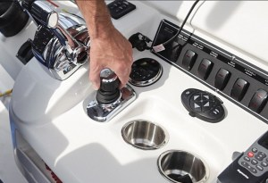 Joystick control is one of the new innovations bringing more boaters back into the market.
