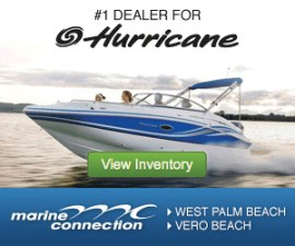 Digital advertising, such as this button ad from Marine Connection, has become an increasingly important marketing strategy.