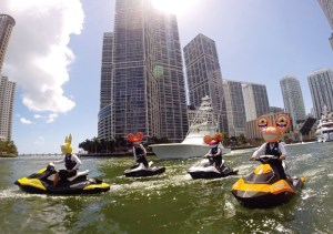 Sea-Doo has used partnerships with music producer deadmau5 and Vanilla Ice — both motorsports enthusiasts — to reach a younger audience.